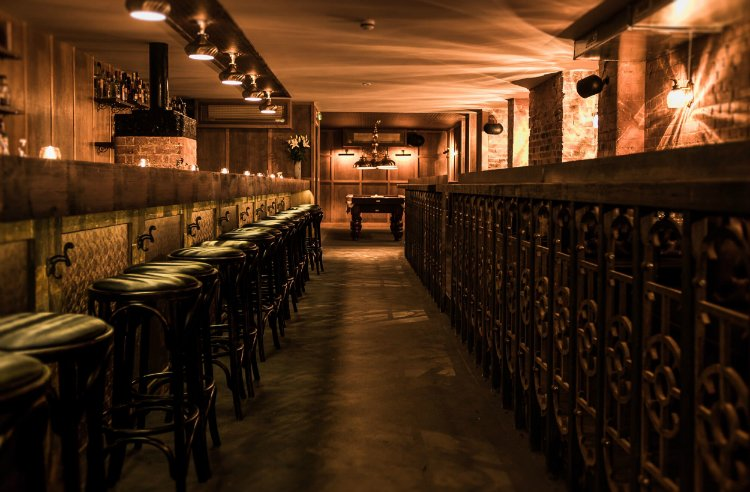 underground bars - things to do in a London heatwave