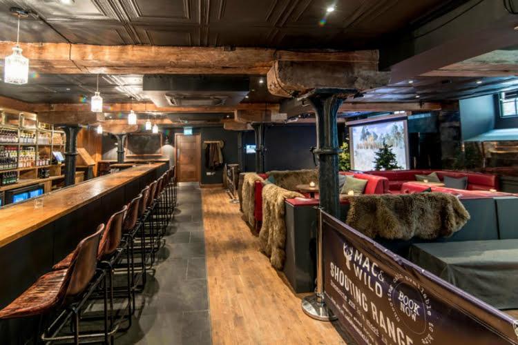 Mac & Wild Devonshire Square Whisky Bar and Shooting Range
