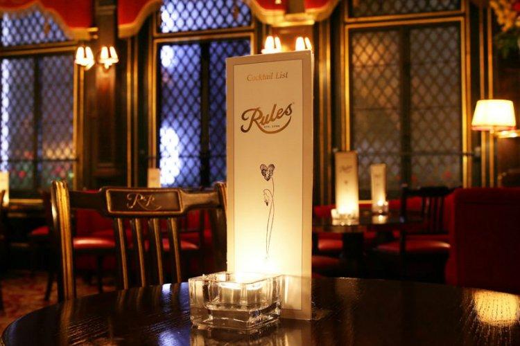 Rules - best restaurants in Covent Garden