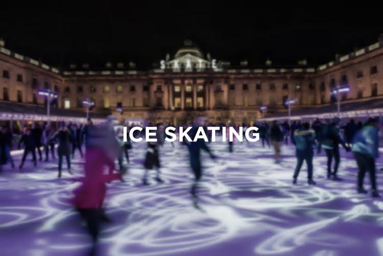 Ice Skating London - Christmas in London 2018