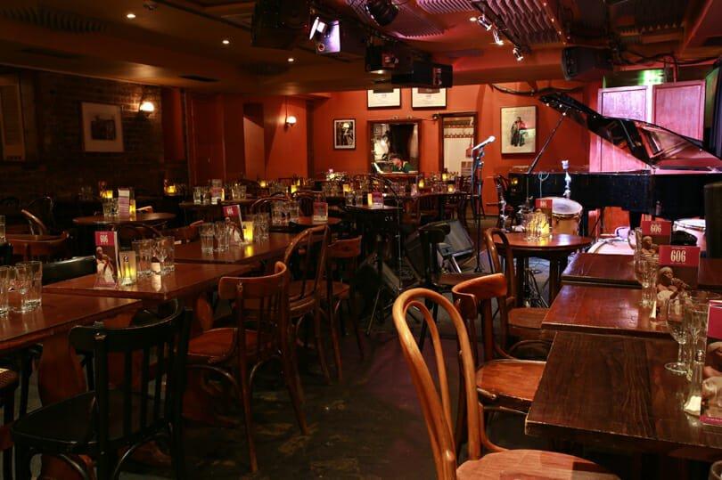 606 Club chelsea jazz bar London