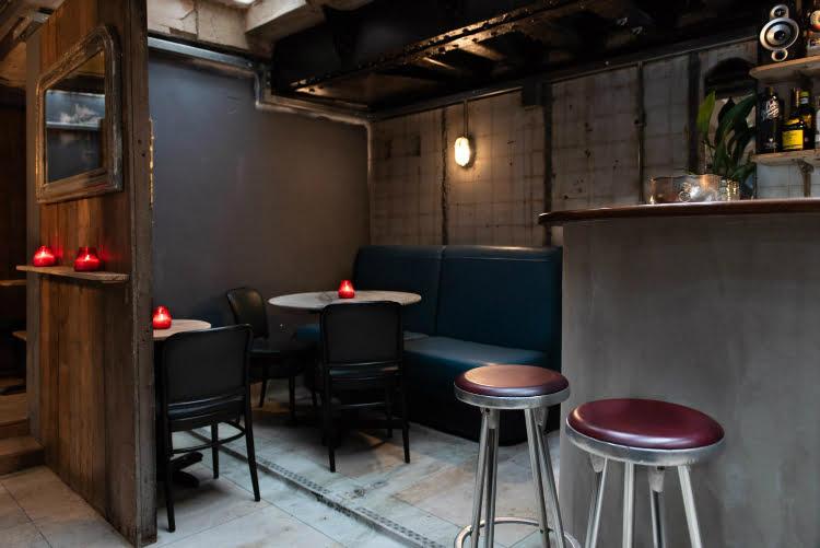 Ladies & Gents secret hidden bar speakeasy London