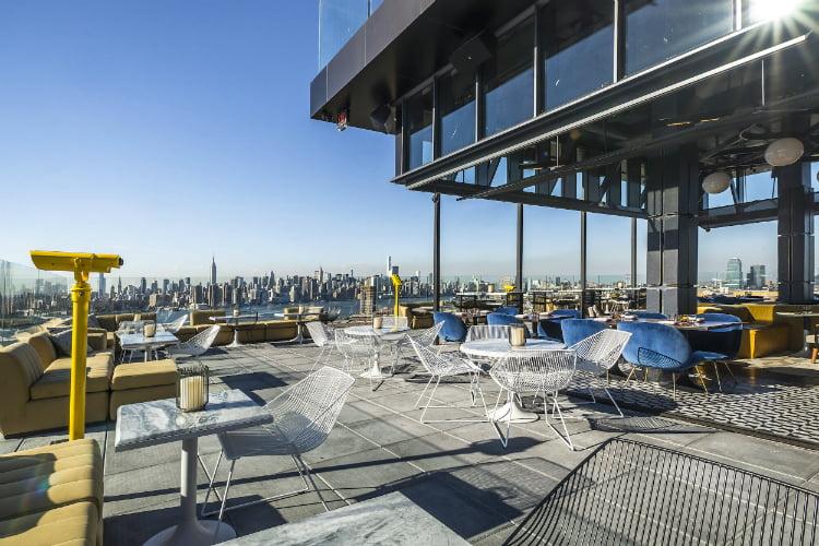 Westlight best bars in New York