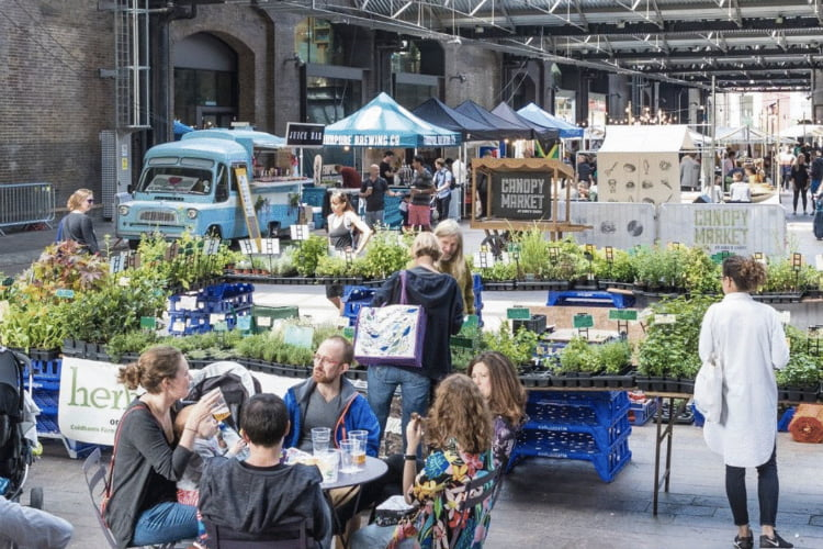 Canopy Market things to do in London this month