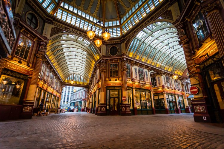 Leadenhall Market Bloomberg Arcade