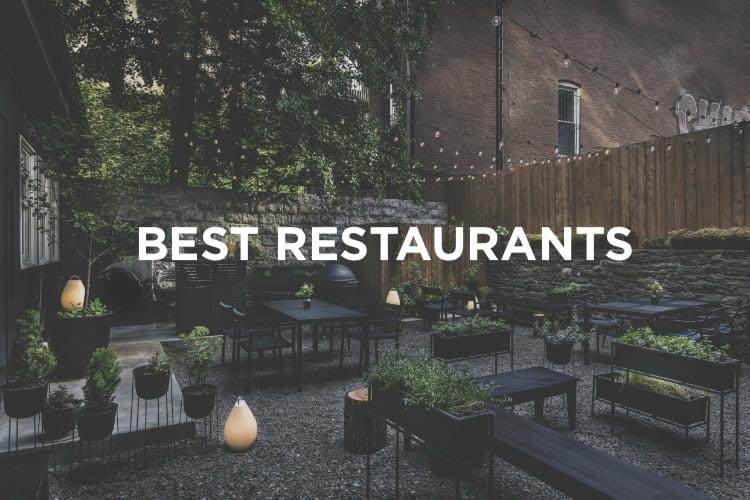 best restaurants in New York guide