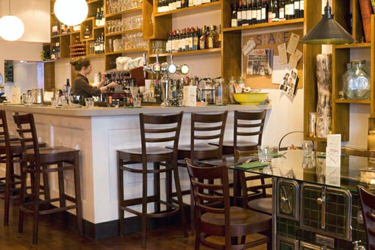 Gazette Putney restaurant