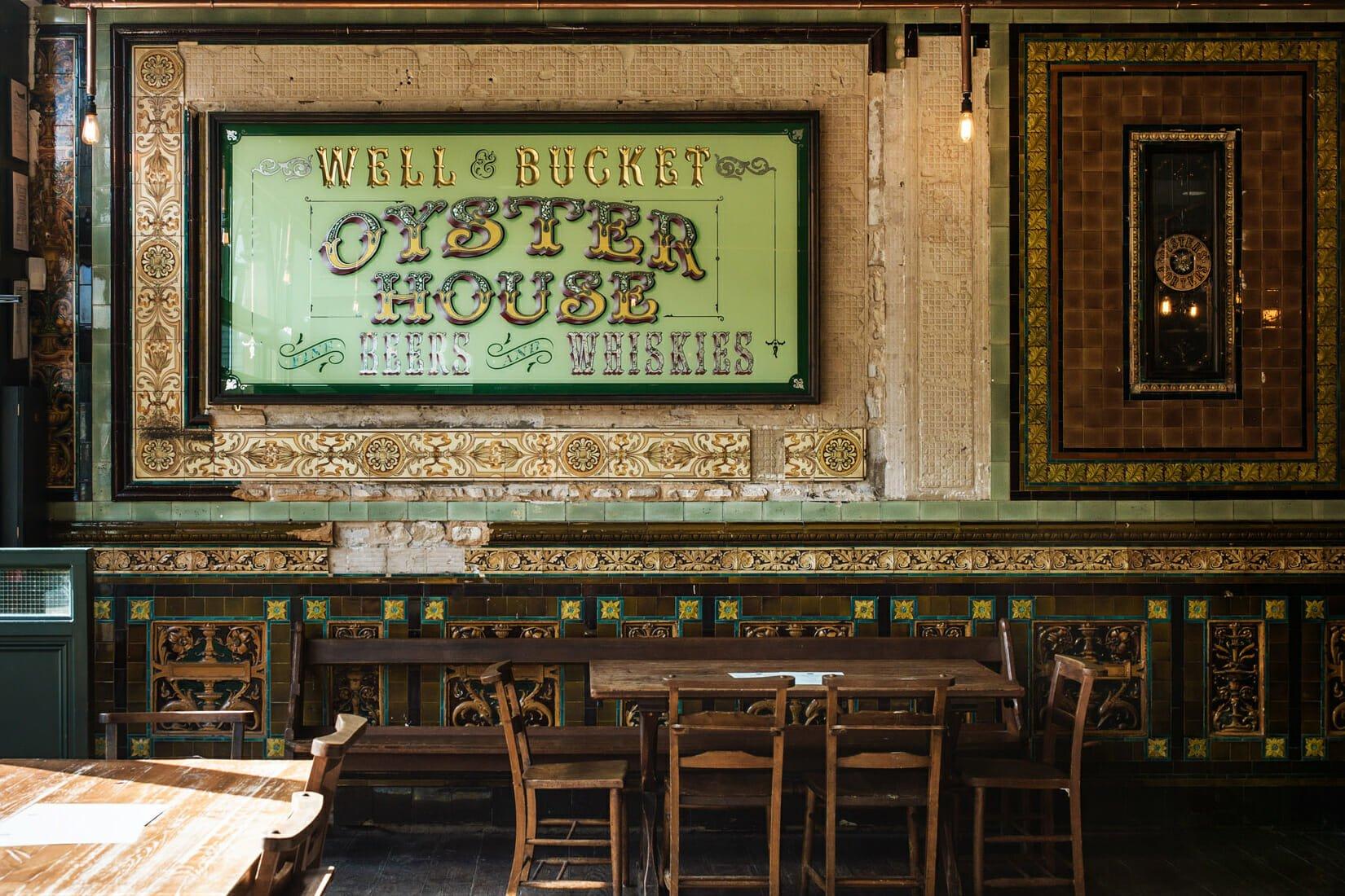 Well and Bucket Brick Lane bar