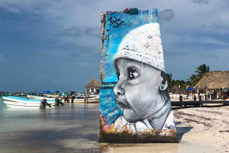 Isla Holbox - Street Art