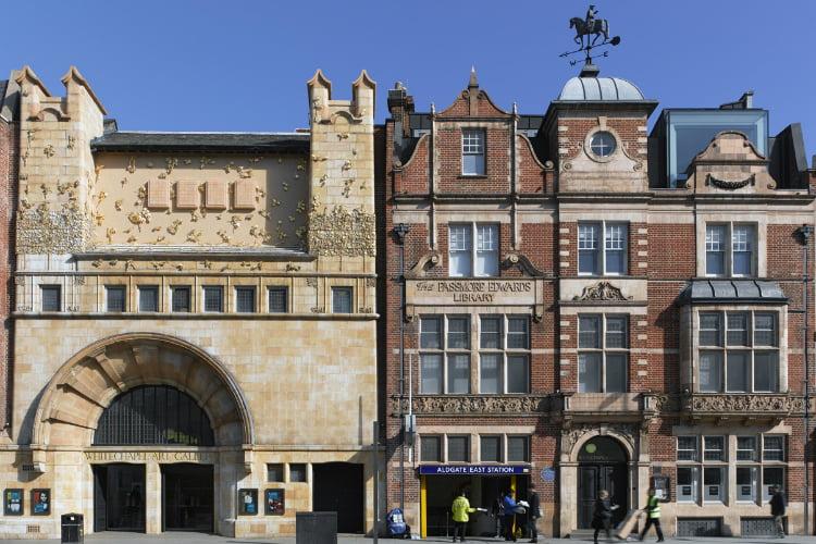 Whitechapel Gallery Brick Lane
