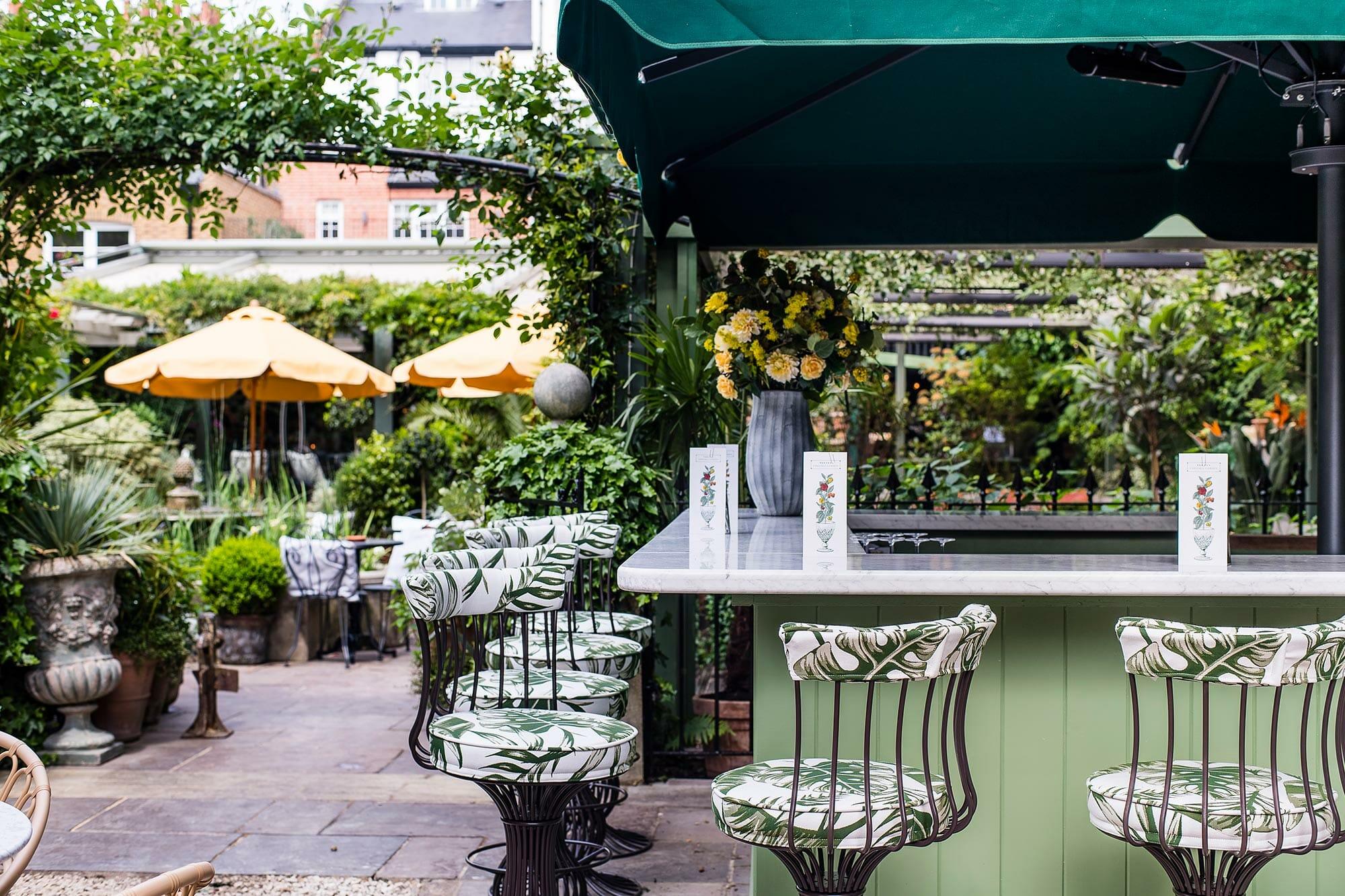 Ivy Chelsea Garden outdoor seating