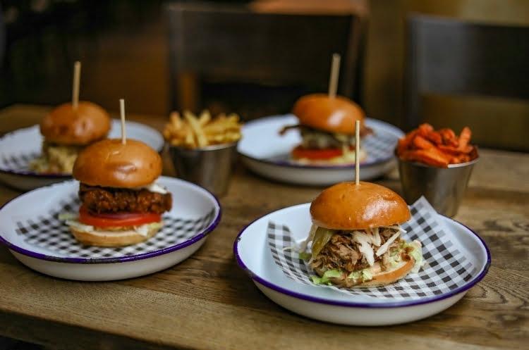Porky's BBQ Camden London restaurants