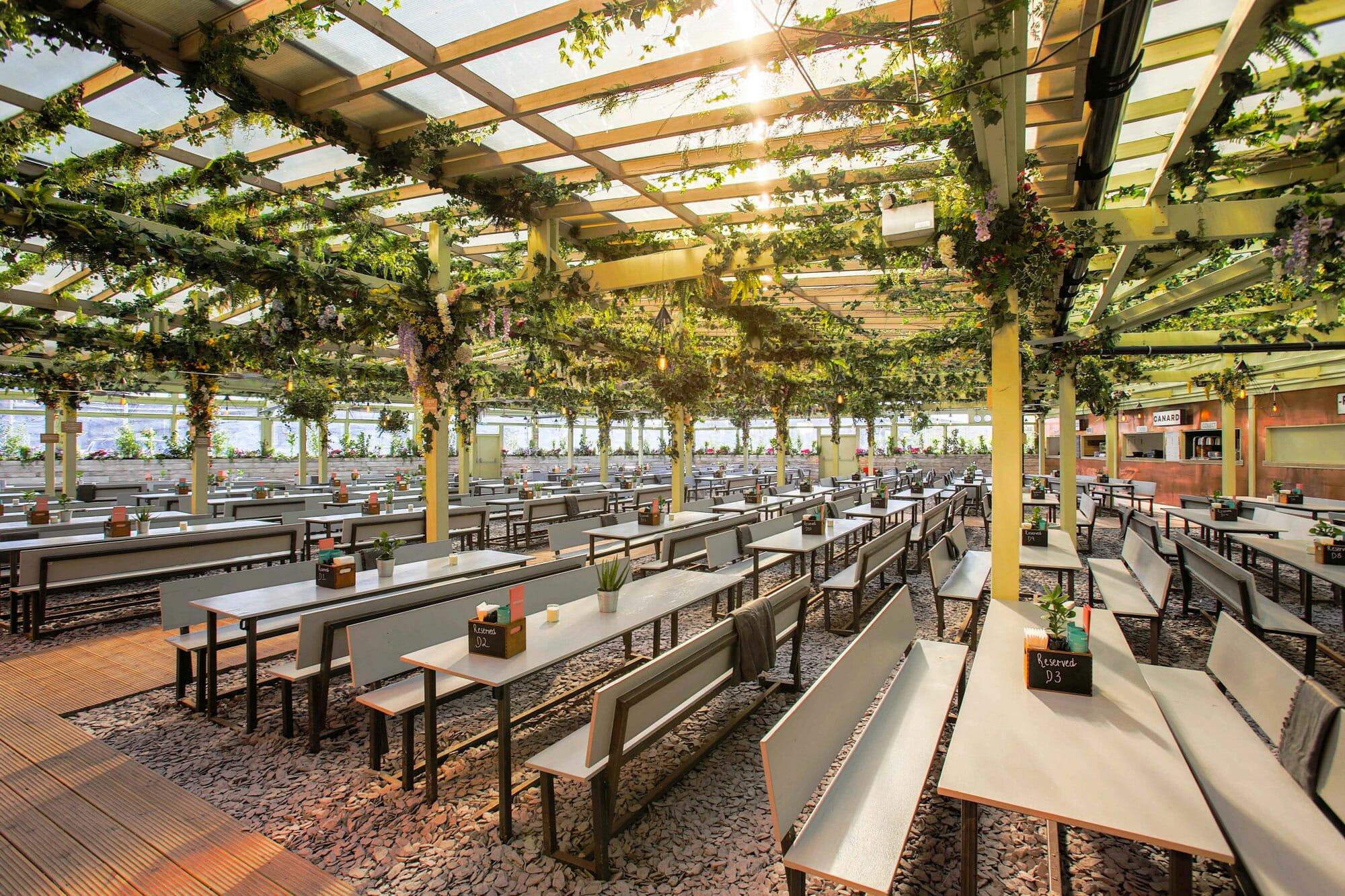 pergola paddington rooftop street food