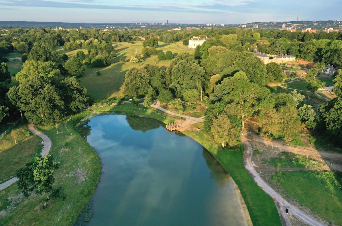 beckenham outdoor swimming london