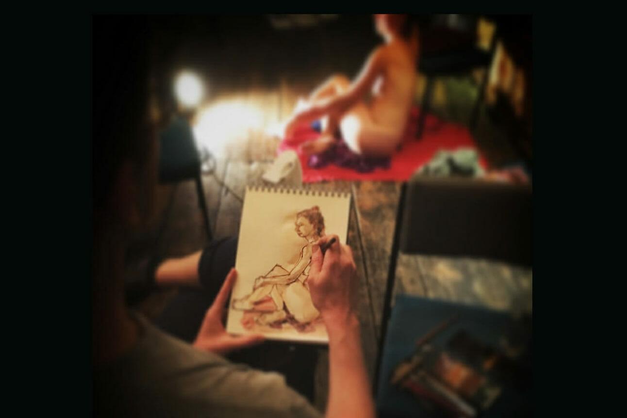 London Drawing creative classes