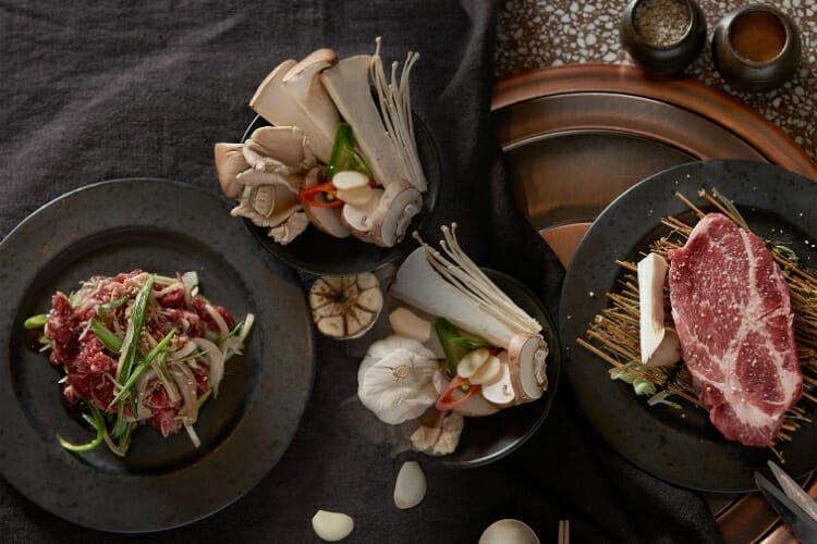 Olle Korean BBQ restaurant London