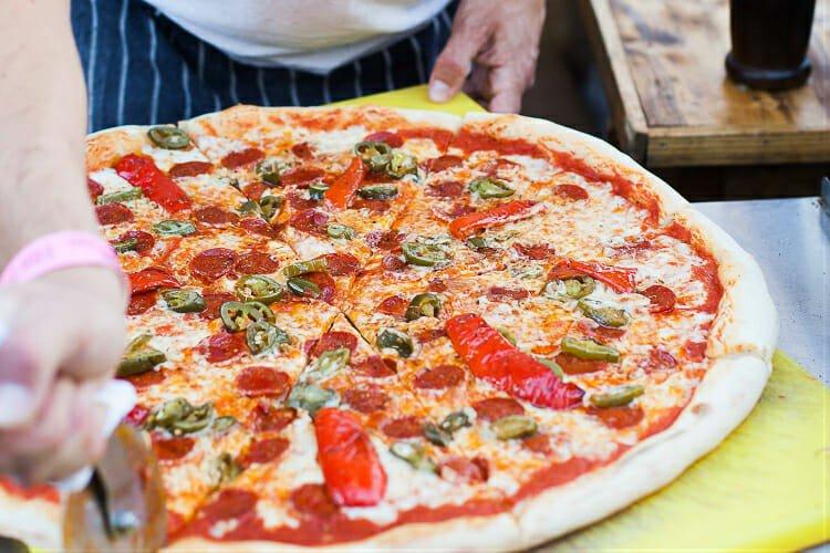 Voodoo Ray's best pizza London