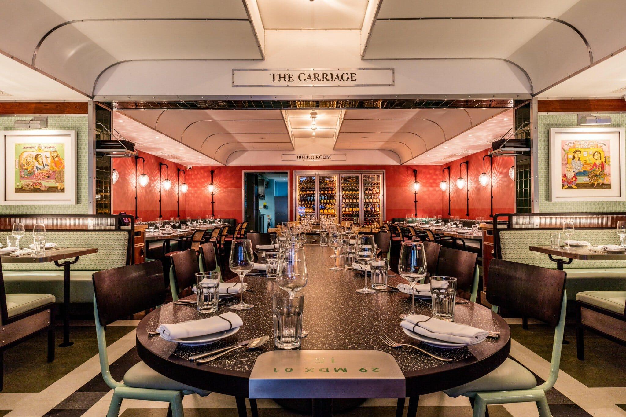 Bombay Bustle best Indian restaurants London