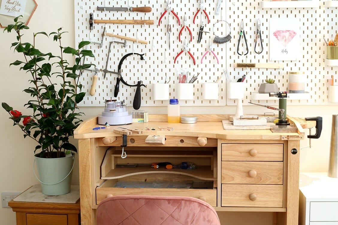 London Jewellery School workshops