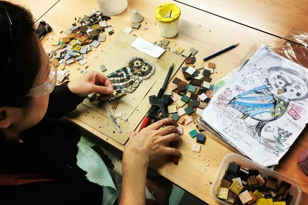 mosaic craft creative workshop London