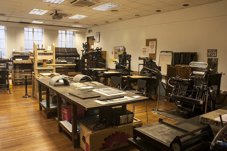 Printing workshops London