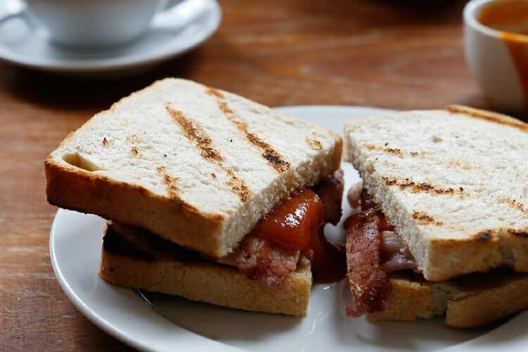 St John Bacon Sandwich