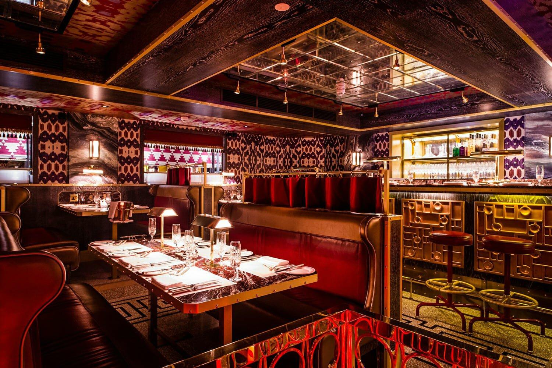 Romantic restaurants: Bob Bob Ricard