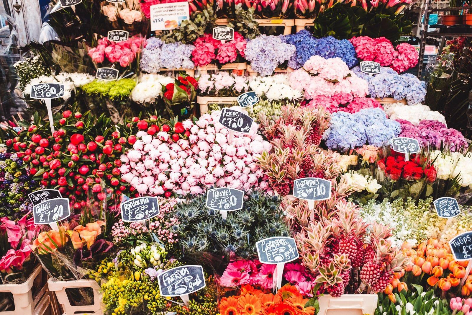 flower market shoreditch
