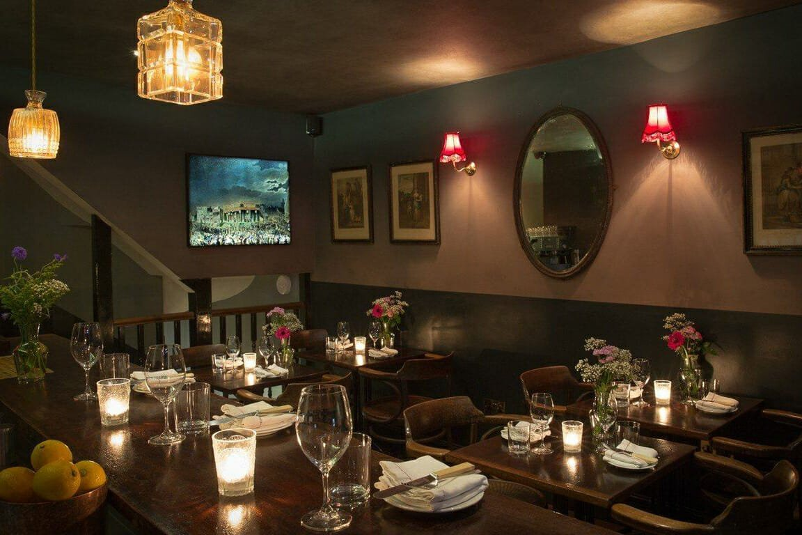 Romantic restaurants: Kitty Fisher's