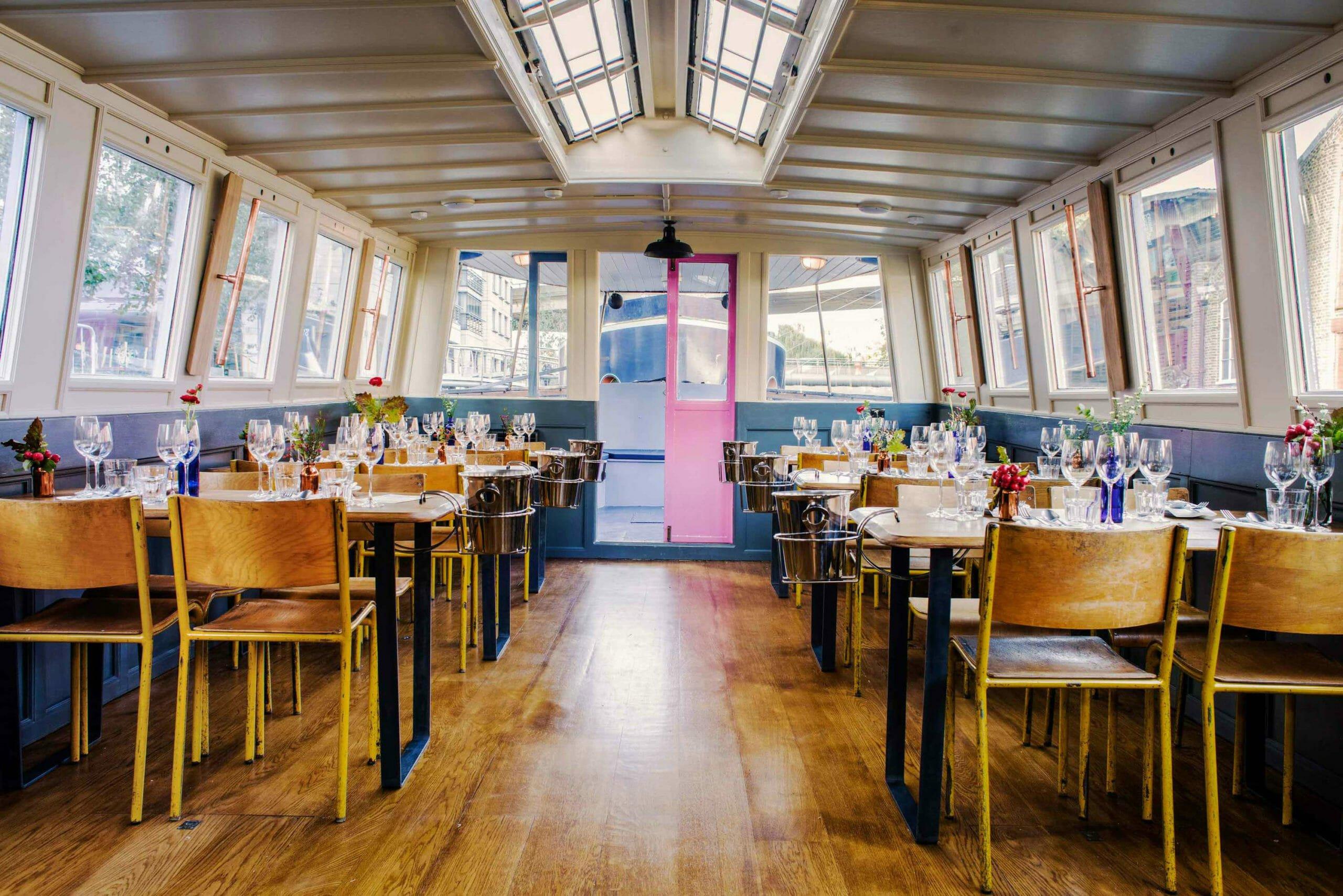 Romantic restaurants: London Shell Co.
