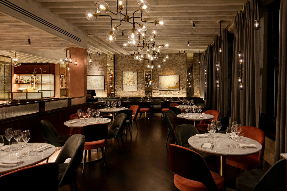 Caractere restaurant Kensington