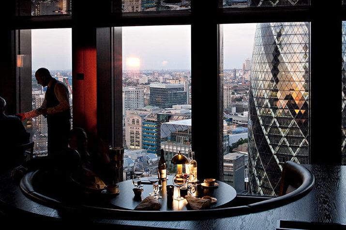 city social romantic michelin star restaurants