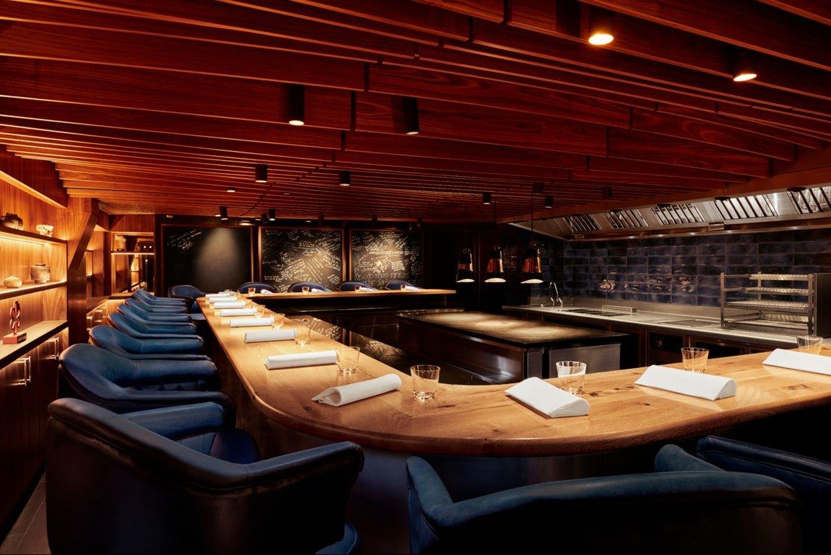 kitchen table michelin star restaurant