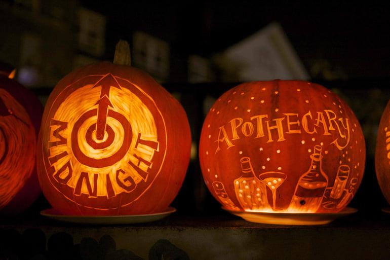 midnight apothecary halloween london
