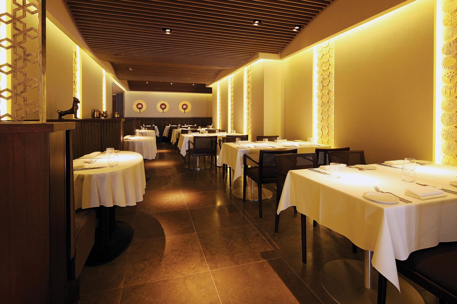 quilon michelin star restaurants london