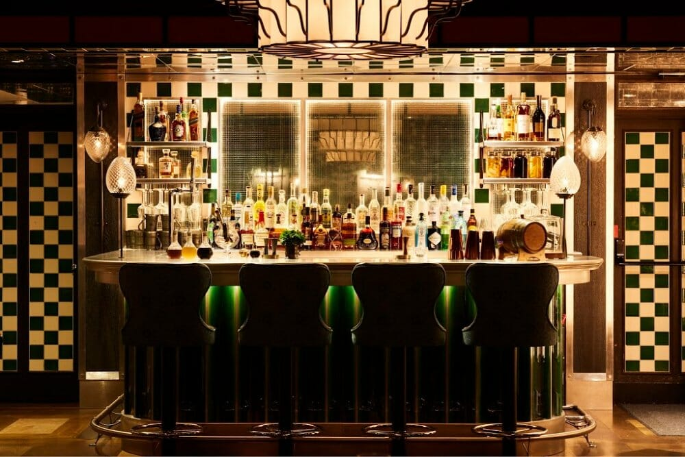 Retiring Room recently opened bars