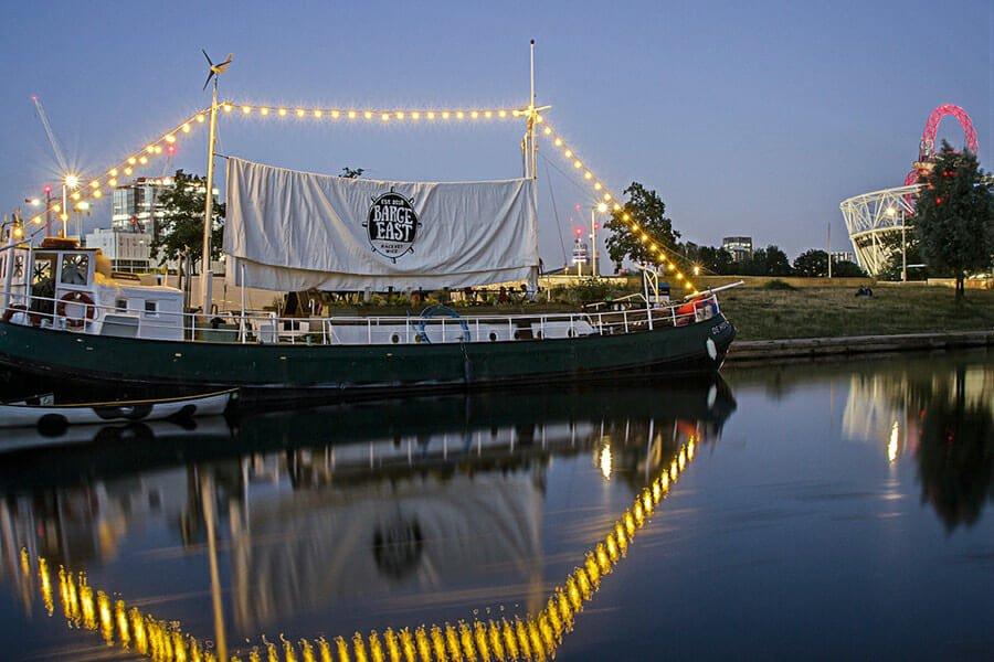 Barge East St Patricks Day 2020 London