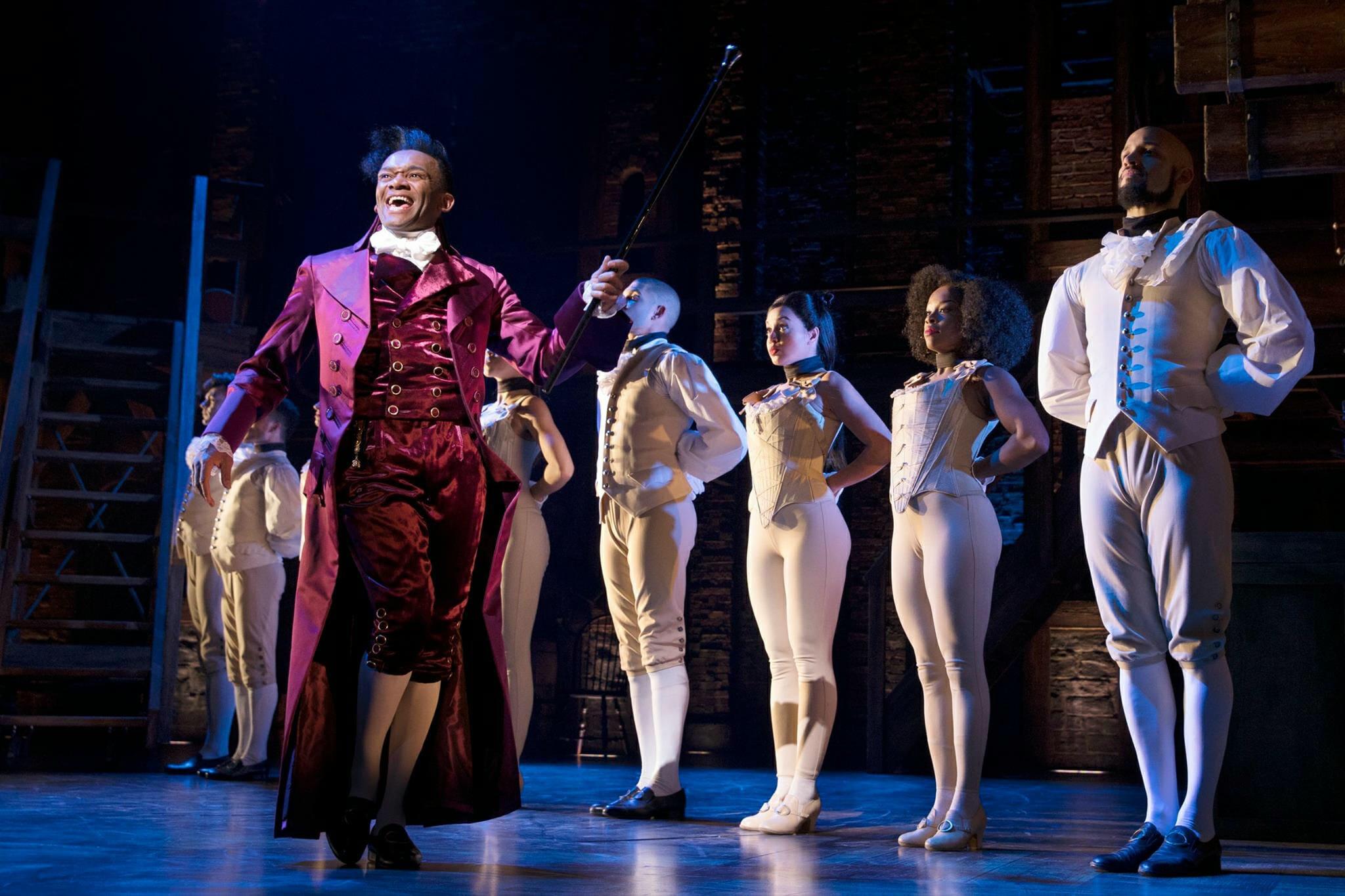 Hamilton best theatre London now