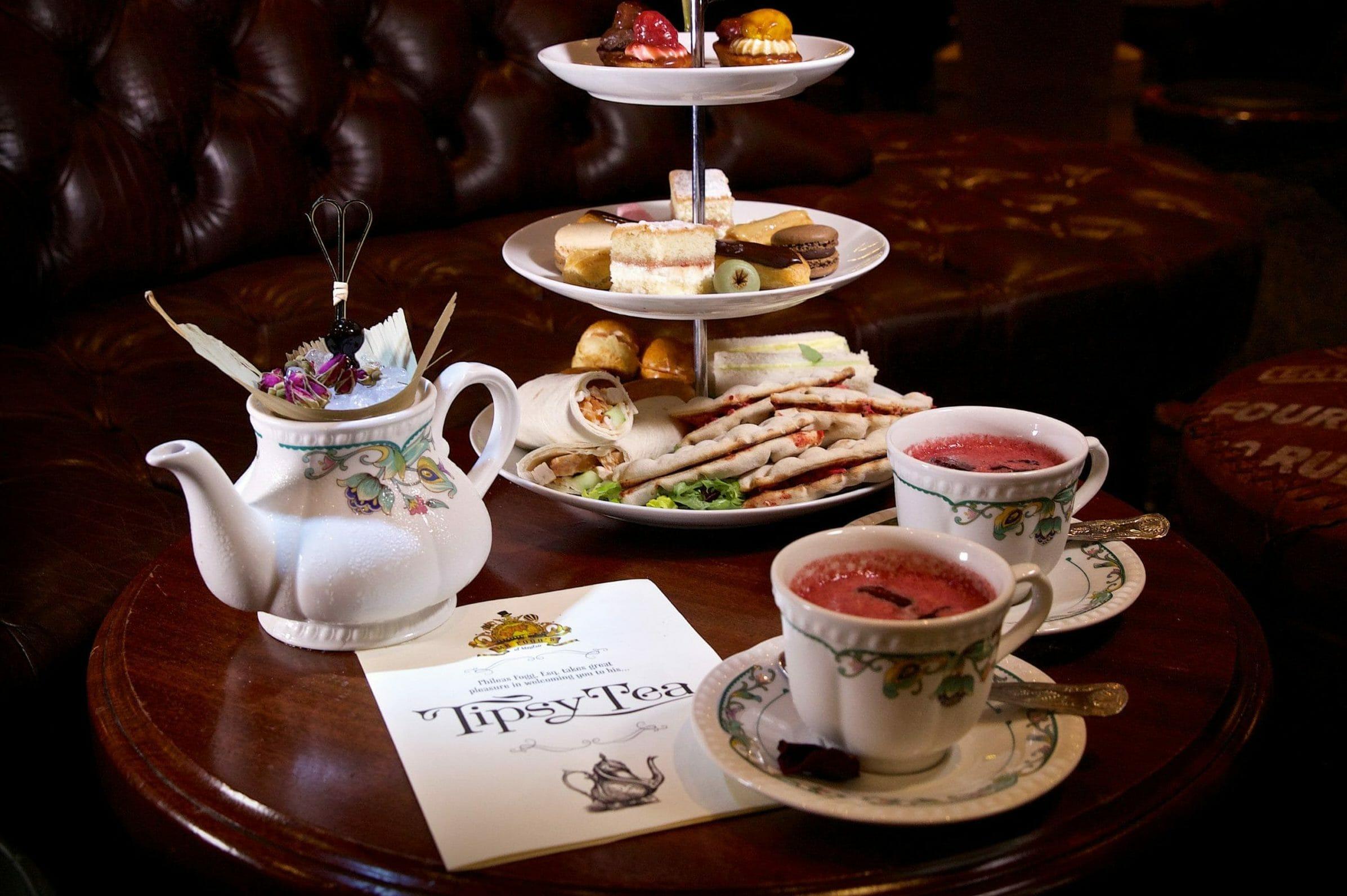 Mr Foggs tipsy tea London