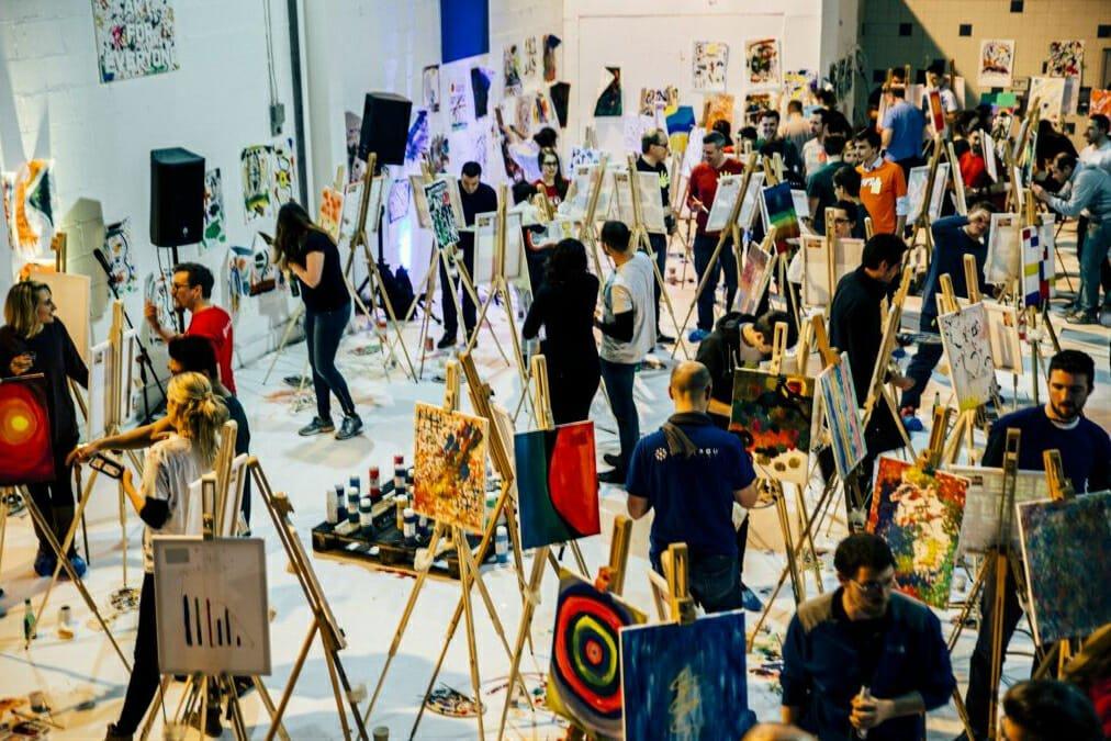 Paint Jam workshops london