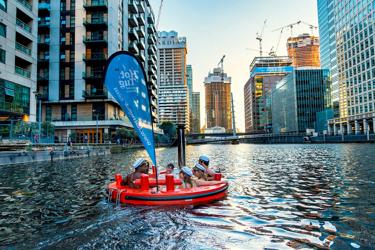 hot tub boats london outdoor things to do