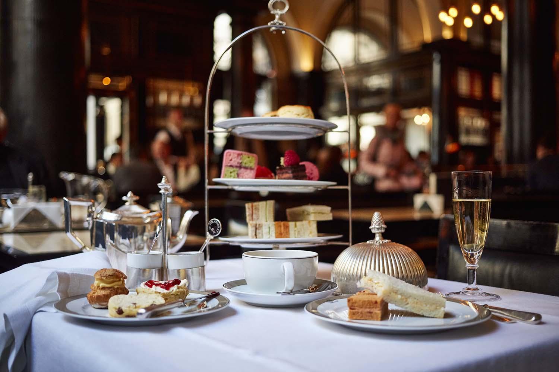 Wolseley afternoon tea London