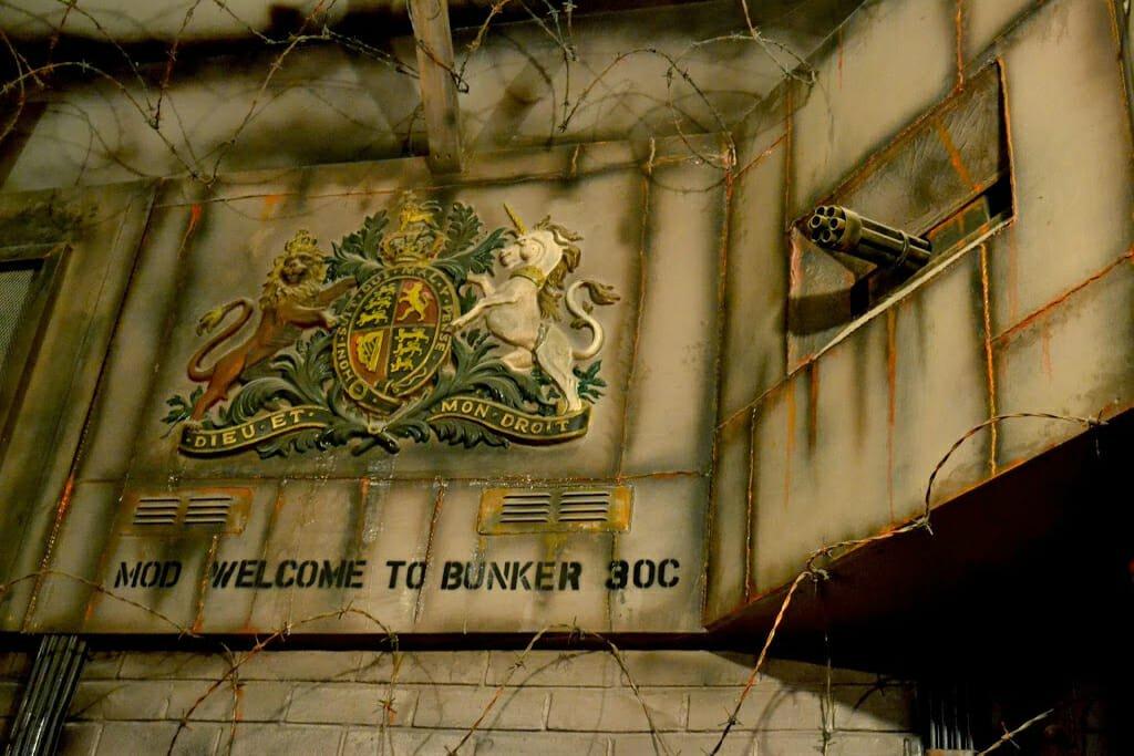 Bunker 51 laser tag London