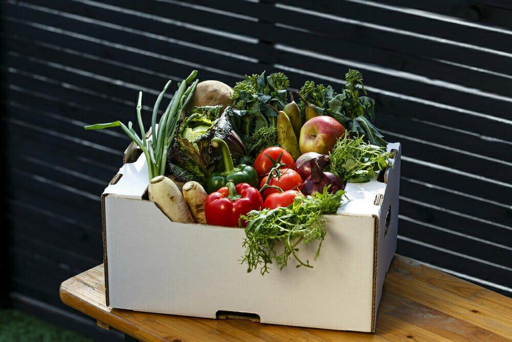 Pale Green Dot veg delivery