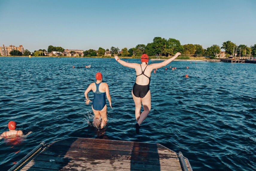 open water swimming london