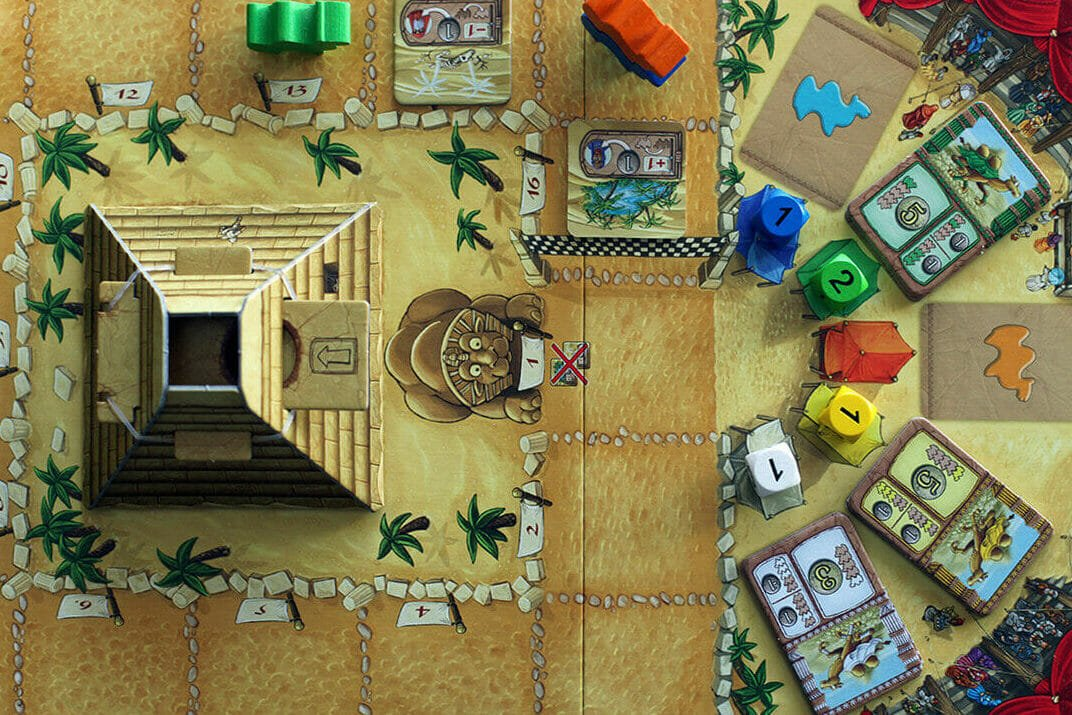 Camel Up 2 player board games