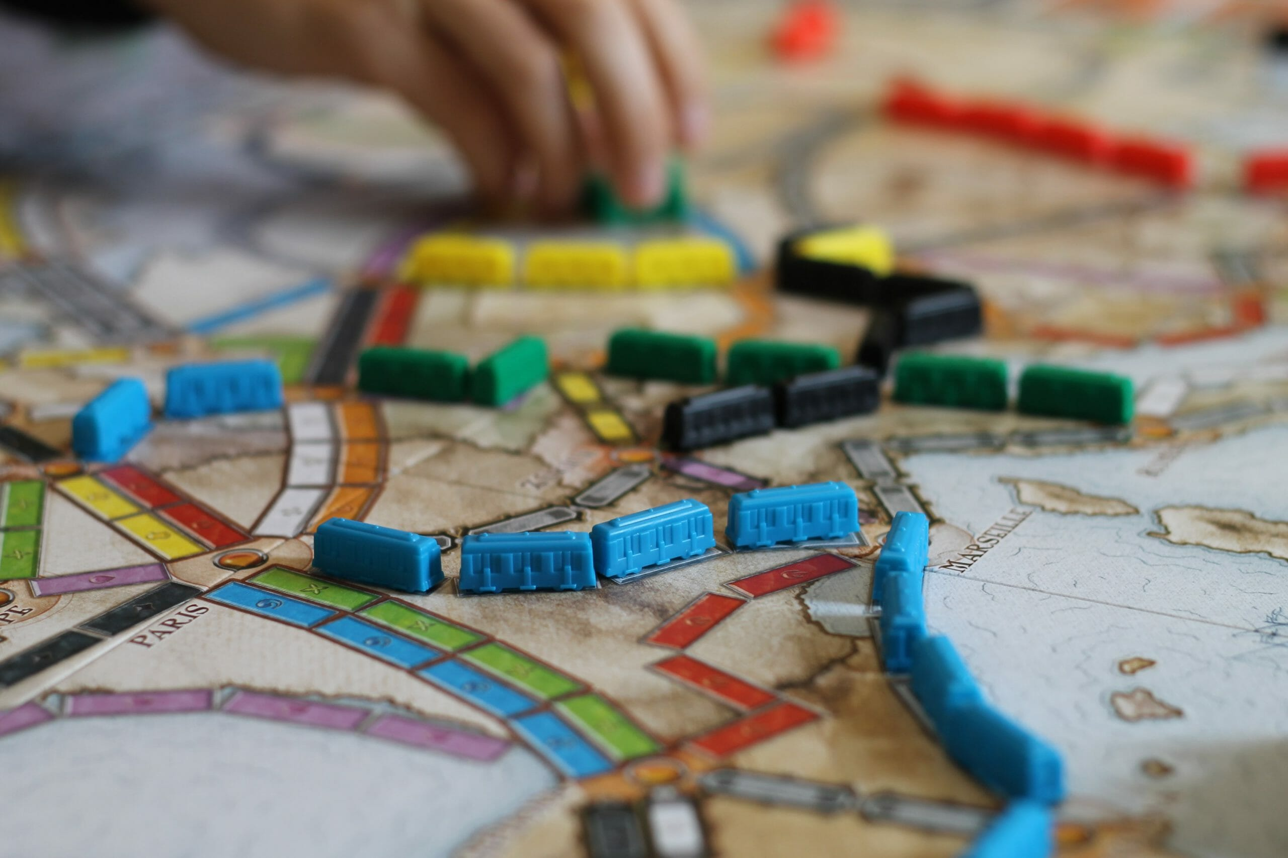 ticket to ride 2 player game