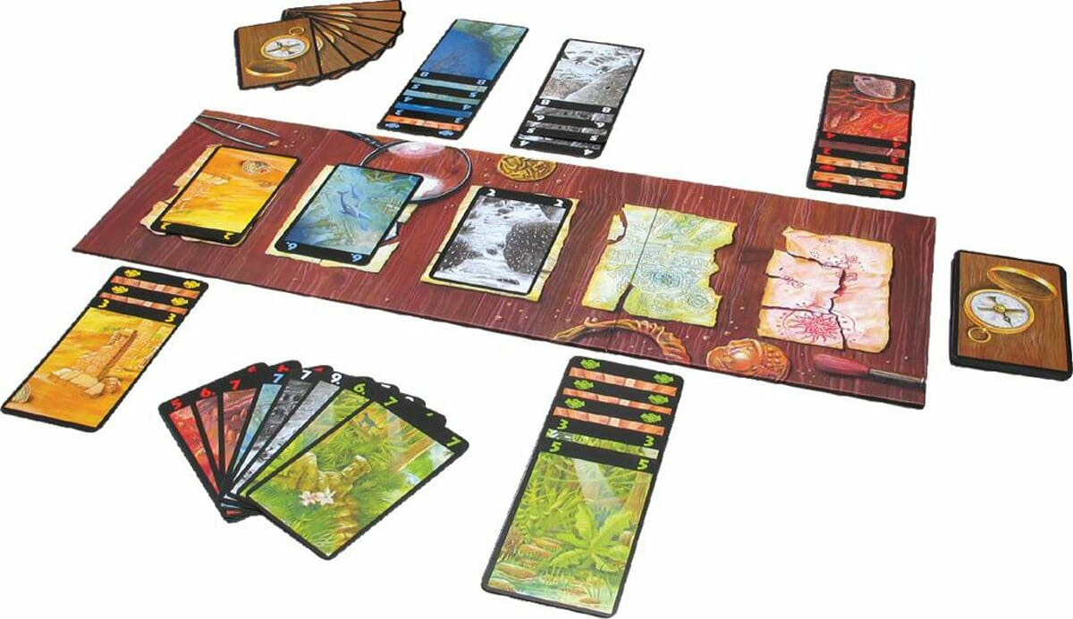 Lost Cities 2 player board game