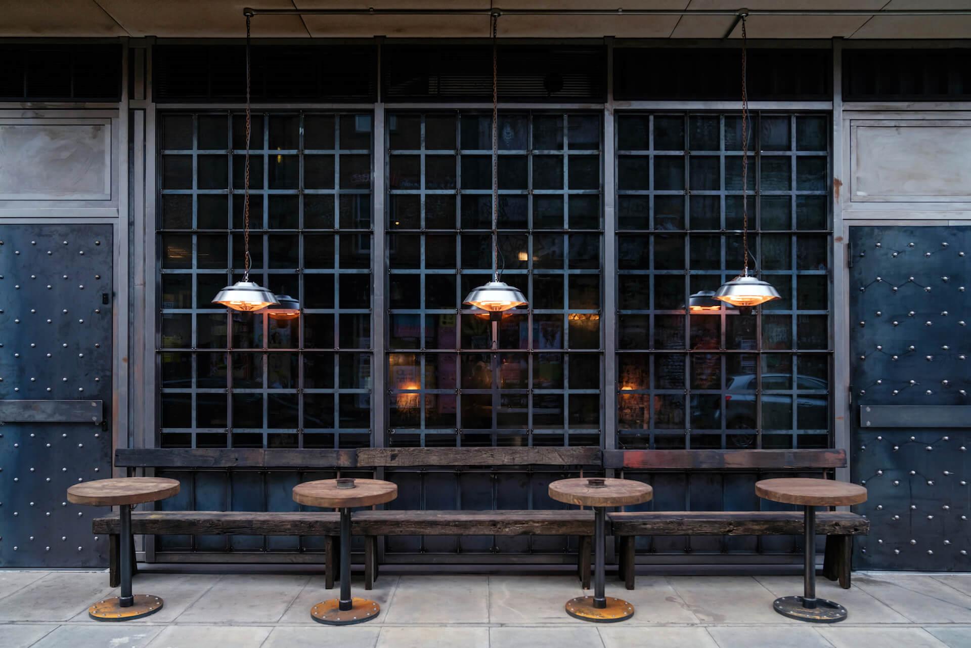 Smokestak open again outdoor seating