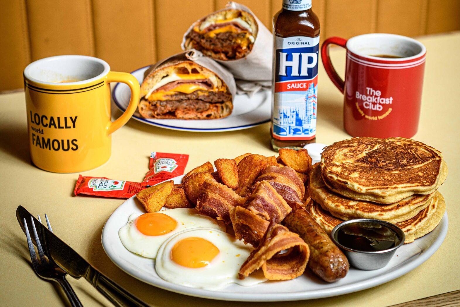 breakfast club best brunch london